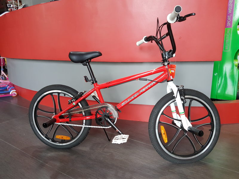Bici Ferrari Bmx Top 20 Bike Red Ricambigmit