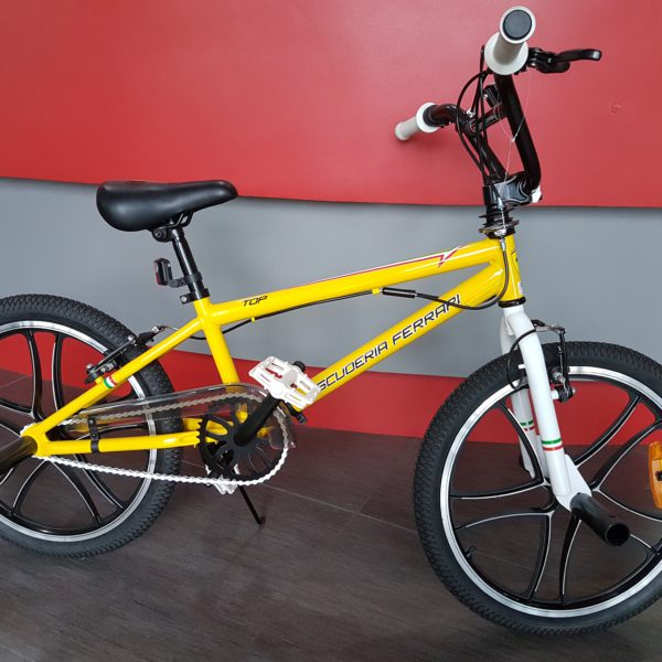 Bici Ferrari Bmx Top 20 Bike Yellow Ricambigmit